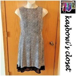 NWT Polka Dot Chiffon Dress PLUS